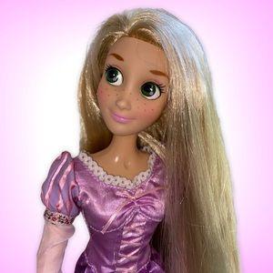 "Disney Store Exclusive 17"" Rapunzel Singing Doll"